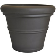 Tusco 30in Rolled Rim Planter Espresso