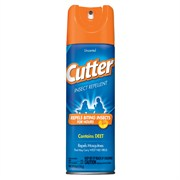 Cutter 6oz Unscented Aer Insect Repellent 10% Dee