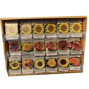 200 Packet Sunflower Counter Display
